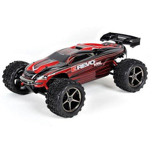 Traxxas E-Revo VXL 1/16 4WD Brushless RTR Truck (Red)w/TQi 2.4GHz Radio, TSM, Battery & DC Charger