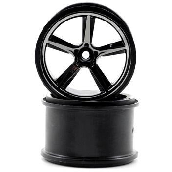 7172A Gemini Black Chrome Wheels Wheels-(2)