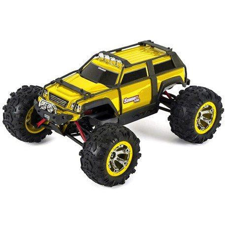 Traxxas Summit VXL 1/16 4WD Brushless RTR Truck (Yellow)w/TQi 2.4GHz Radio, TSM, Battery & DC Charger