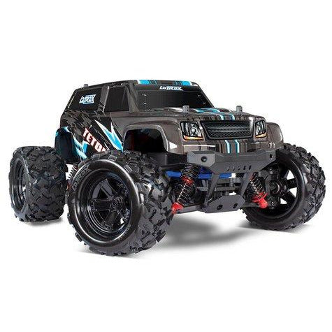 TRAXXAS 76054-5 LATRAX TETON 1/18 4WD RTR MONSTER TRUCK (BLACK) W/2.4GHZ RADIO, BATTERY & AC CHARGER