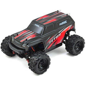 TRAXXAS LATRAX TETON 1/18 4WD RTR MONSTER TRUCK (RED) W/2.4GHZ RADIO, BATTERY & AC CHARGER