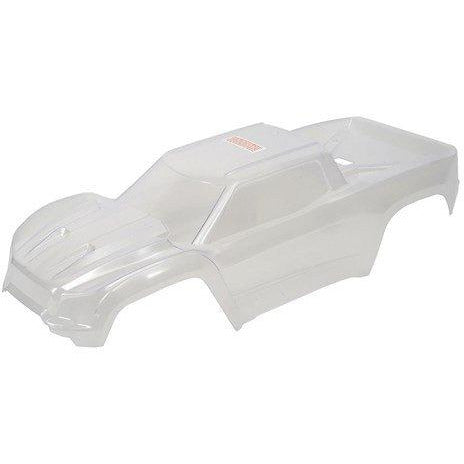 7711 X-Maxx Body (Clear - Needs Paint) W/ Decal Sheet