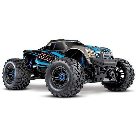 Traxxas Maxx 1/10 Brushless RTR 4WD Monster Truck (Blue) w/TQi 2.4GHz Radio & TSM