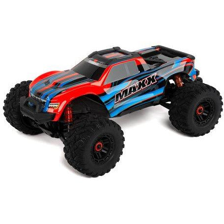 Traxxas Maxx 1/10 Brushless RTR 4WD Monster Truck (Red) w/TQi 2.4GHz Radio & TSM
