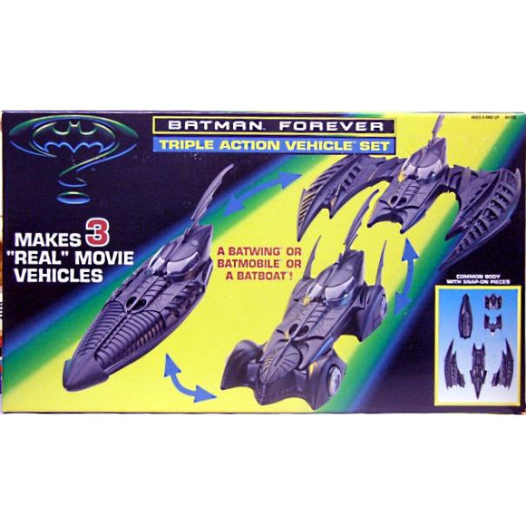 Kenner Batman Triple Action Vehicle Set 1996