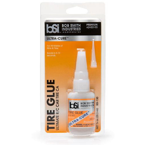 BSI 130 MEDIUM THIN ULTRA-CURE TIRE GLUE 3/4 OZ.