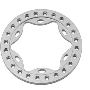 "Vanquish Products OMF 1.9"" Scallop Beadlock Rings (Grey)"