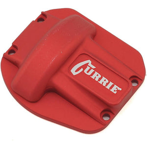 Vanquish Products Currie Rockjock Ascender Diff Cover (Red)