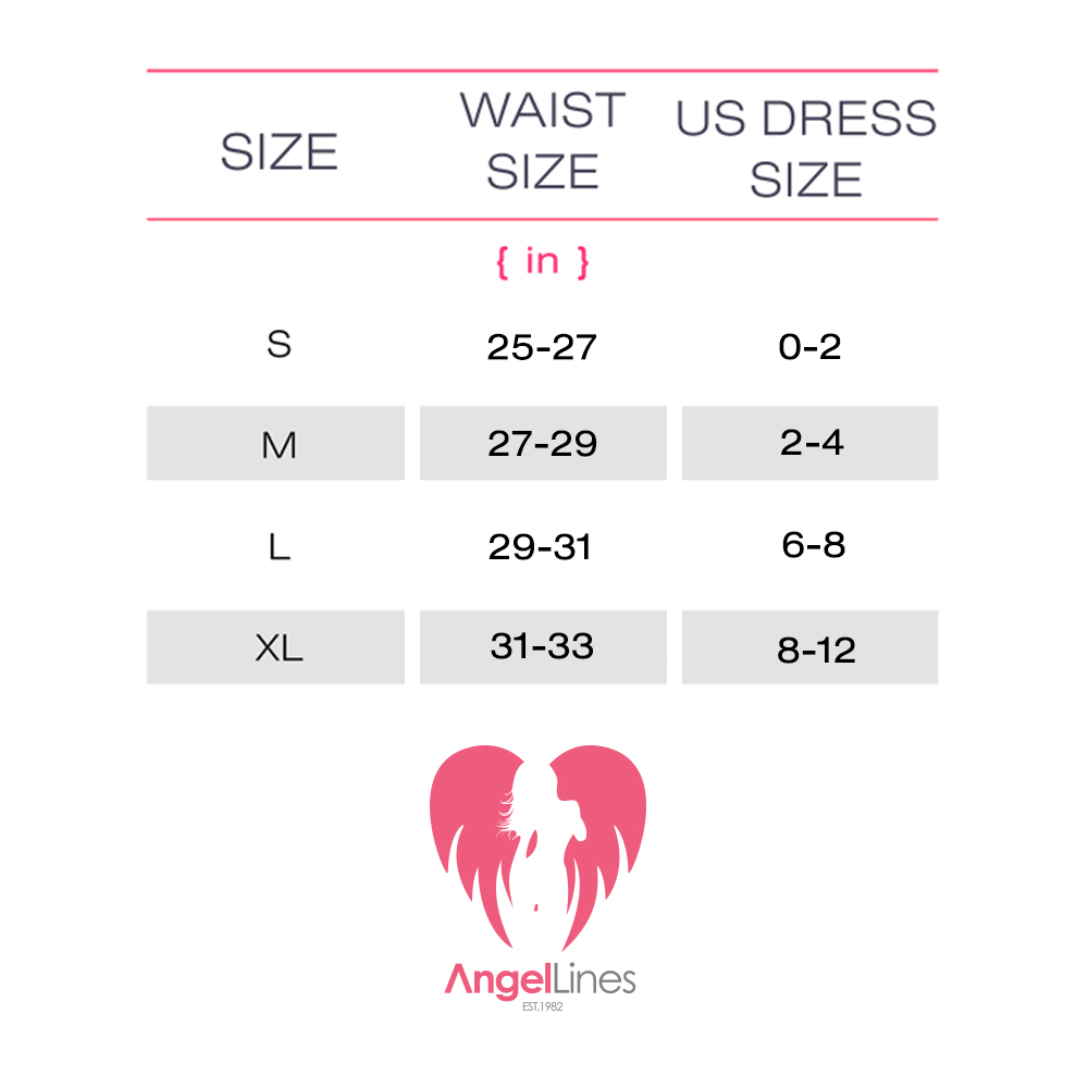 Angel Lines Waist Trainer - Model B - Black