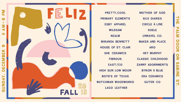 feliz austin well curated holiday shopping experience to support small businesses creating beautiful things
