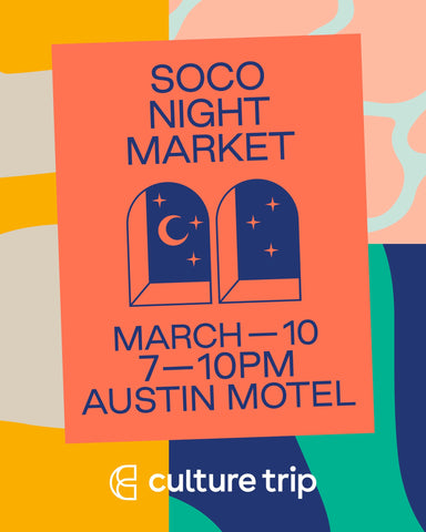Unravel Co SXSW Event with Culture Trip at Austin Motel