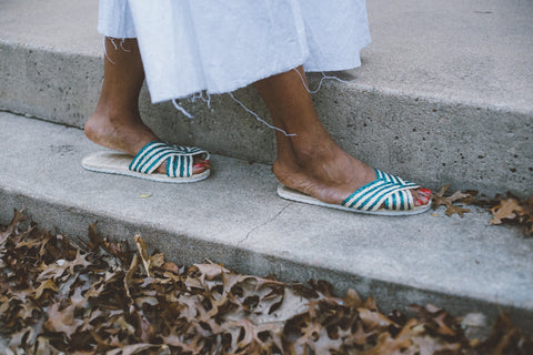 unravel-co-handwoven-straw-Philippines-green-striped-sandal