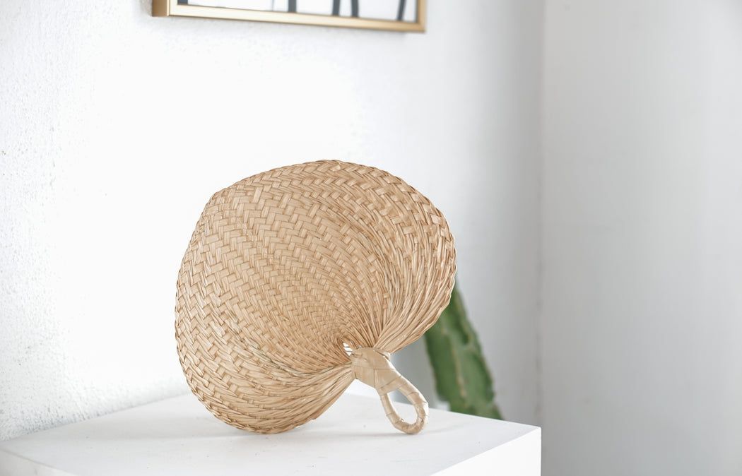 market find - Philippines - Unravel Co - Small Handwoven fan