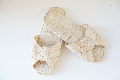 handmade natural braided sandals