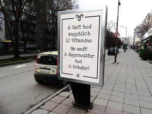 A Saft hod angeblich 12 Vitamine Poster Large (A1+)