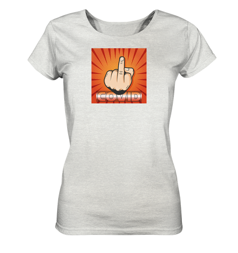 Fck U CVD by SpicyRocket - Ladies Organic Shirt (meliert)