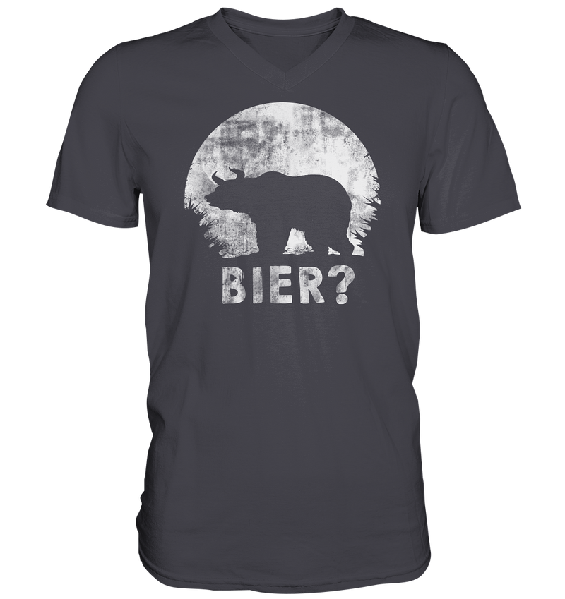 Bier Bär  - Mens V-Neck Shirt