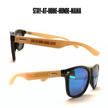 Stay at home Hundemama - Sonnenbrille mit Lasergravur