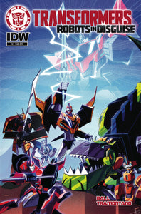 TRANSFORMERS ROBOTS IN DISGUISE ANIMATED #2 SUBSCRIPTION VAR