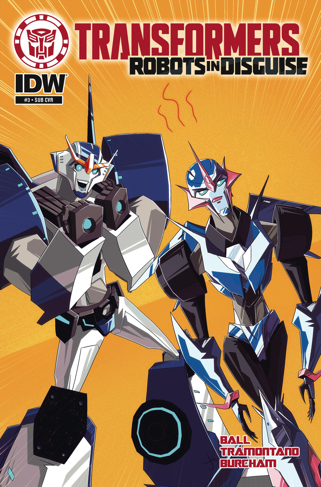 TRANSFORMERS ROBOTS IN DISGUISE ANIMATED #3 SUBSCRIPTION VAR