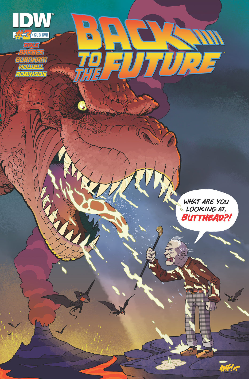 BACK TO THE FUTURE #3 SUBSCRIPTION VAR
