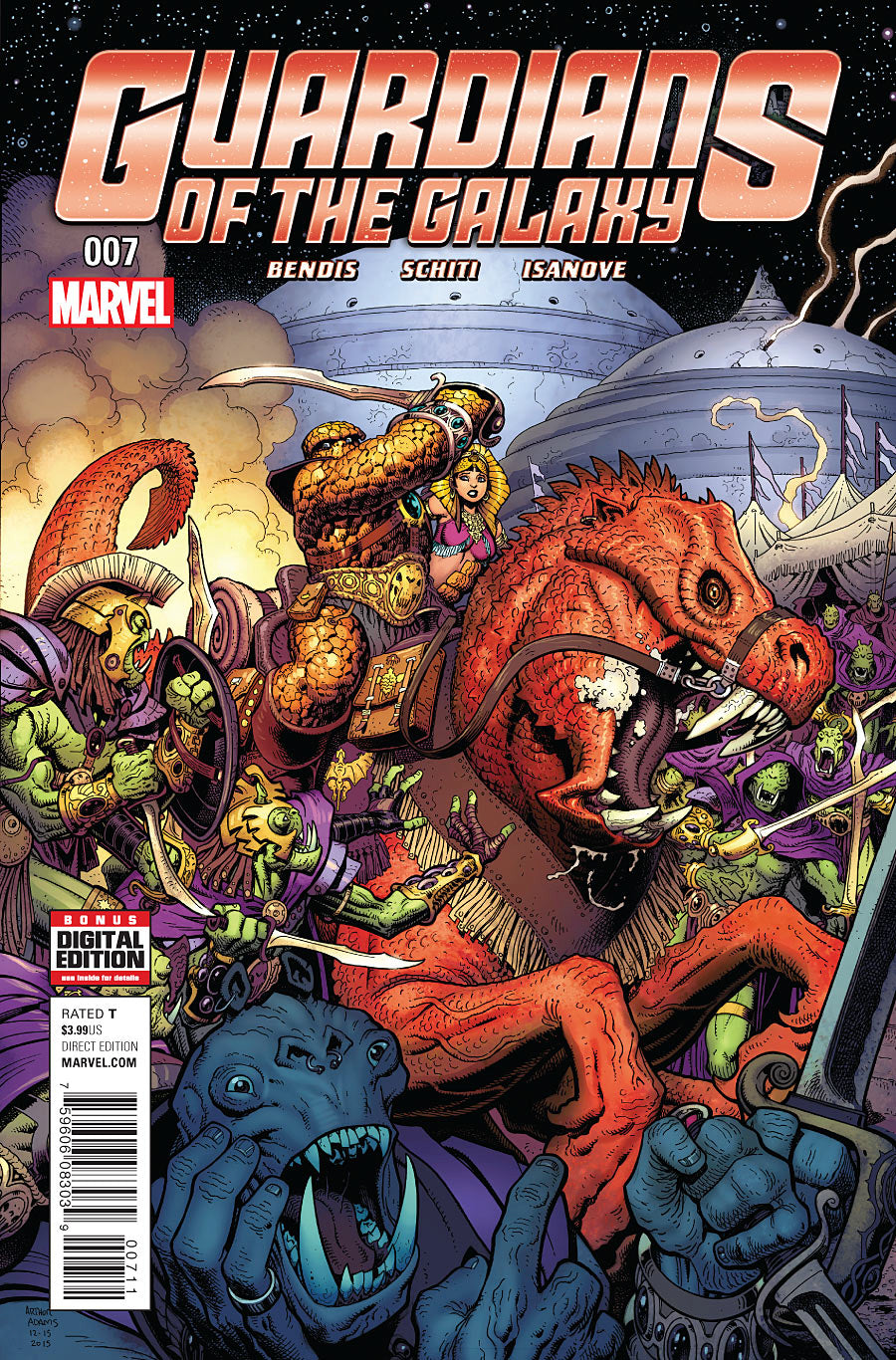 GUARDIANS OF GALAXY #7