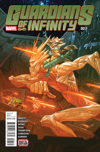 GUARDIANS OF INFINITY #7