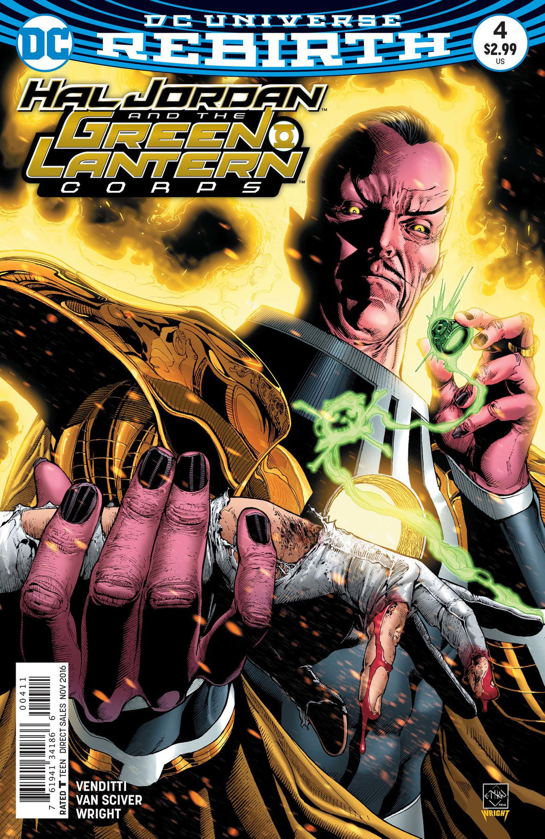 HAL JORDAN AND THE GREEN LANTERN CORPS #4