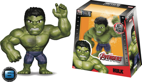 METALS MARVEL HULK AGE OF ULTRON 6IN DIE-CAST FIGURE
