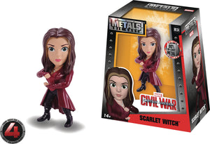 METALS MARVEL CIVIL WAR SCARLET WITCH 4IN DIE-CAST FIGURE
