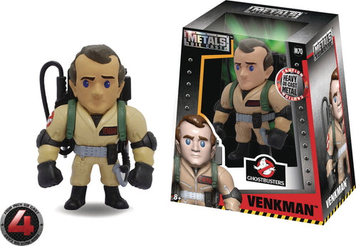 METALS GHOSTBUSTERS VENKMAN 4IN DIE-CAST FIGURE