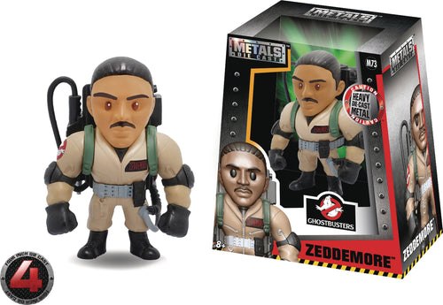 METALS GHOSTBUSTERS ZEDDEMORE 4IN DIE-CAST FIGURE