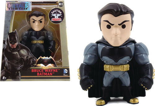 METALS BATMAN VS SUPERMAN BRUCE WAYNE 4IN DIE-CAST FIGURE
