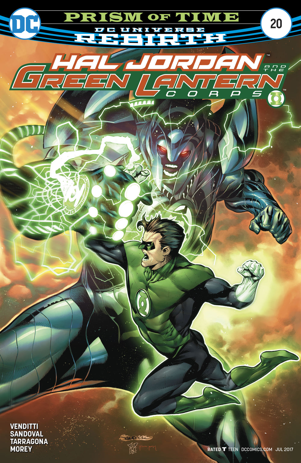 HAL JORDAN AND THE GREEN LANTERN CORPS #20