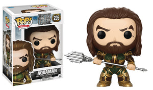 JUSTICE LEAGUE MOVIE AQUAMAN POP VINYL FIGURE
