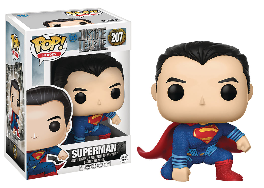 JUSTICE LEAGUE MOVIE SUPERMAN POP VINYL FIGURE