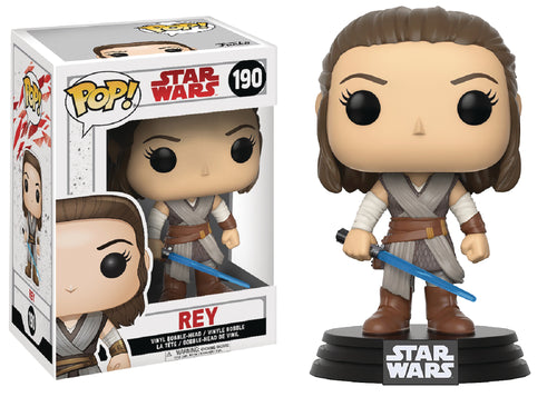 STAR WARS EPISODE 8 REY POP VINYL FIGURE