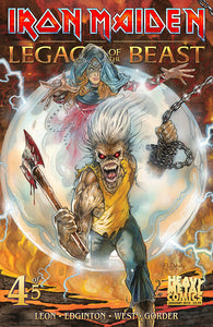 IRON MAIDEN LEGACY OF THE BEAST #4 (OF 5) CVR A CASAS (MR)