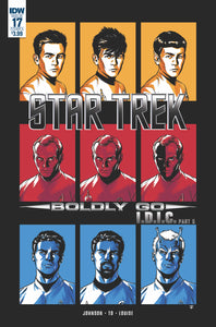 STAR TREK BOLDLY GO #17 CVR A TO