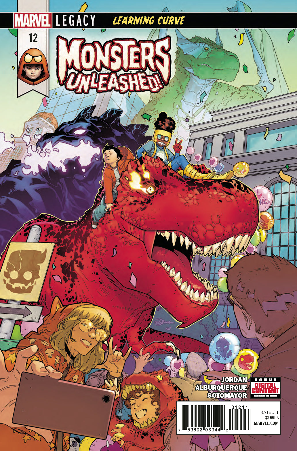 MONSTERS UNLEASHED #12 LEG