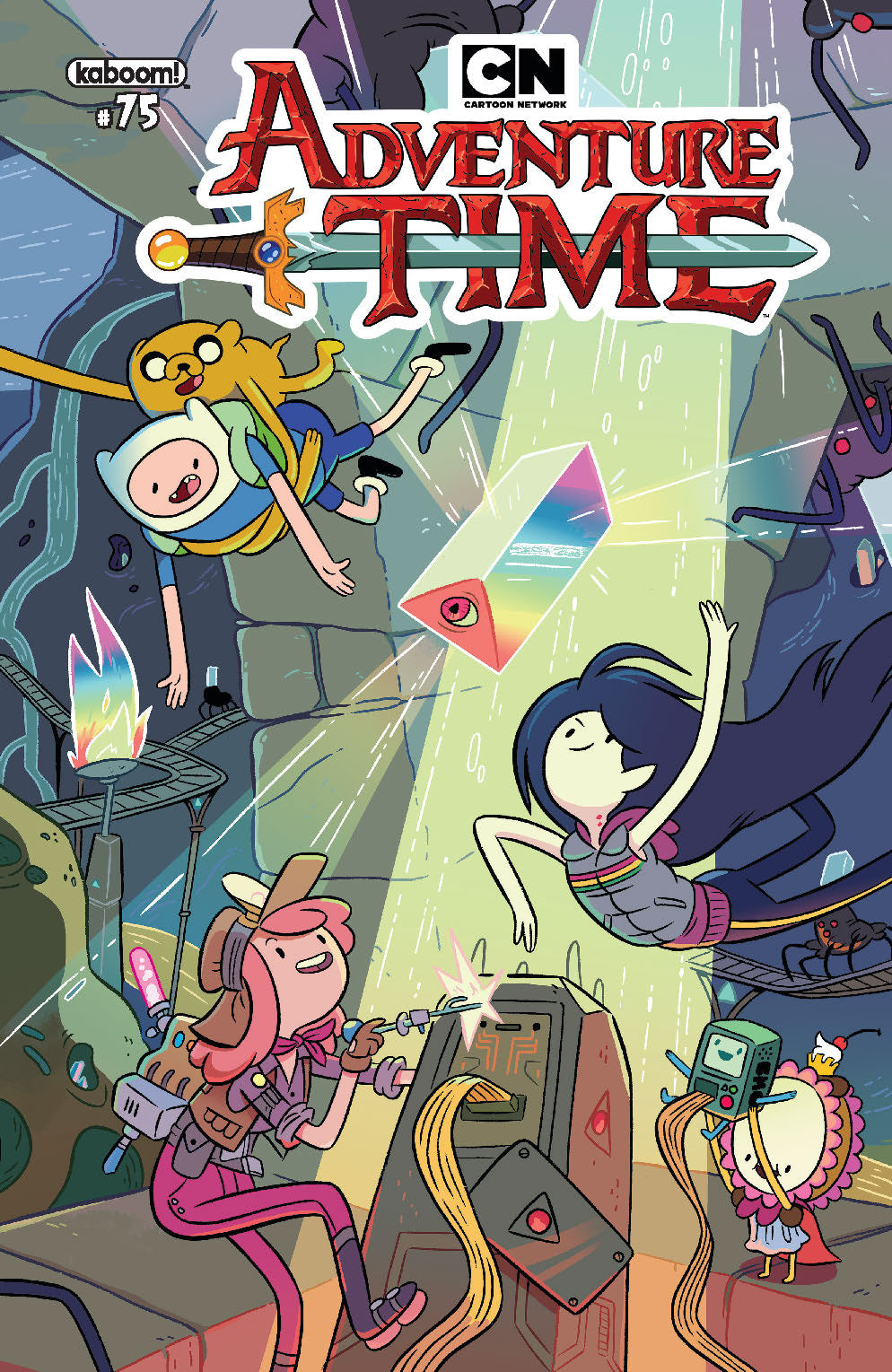 ADVENTURE TIME #75 MAIN WRAPAROUND COVER