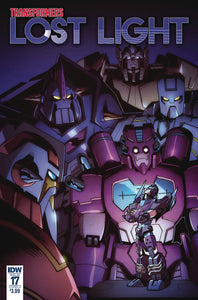 TRANSFORMERS LOST LIGHT #17 CVR A LAWRENCE