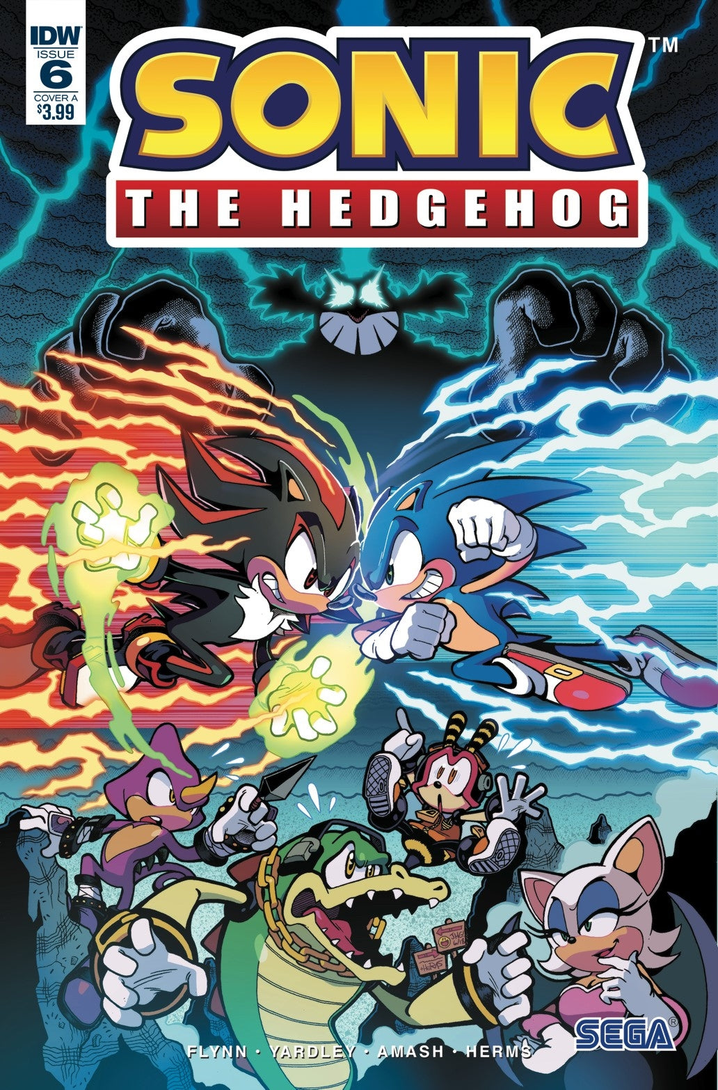 SONIC THE HEDGEHOG #6 CVR A YARDLEY