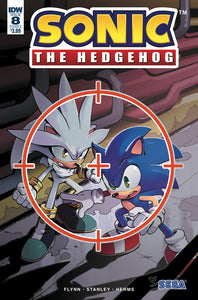 SONIC THE HEDGEHOG #8 CVR A STANLEY