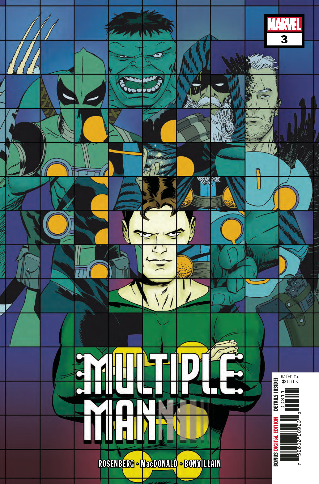 MULTIPLE MAN #3 (OF 5)