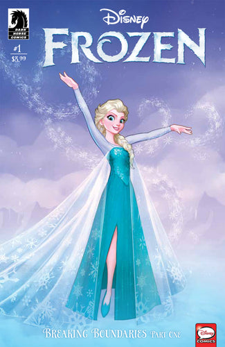 DISNEY FROZEN BREAKING BOUNDARIES #1 FRANCISCO CVR