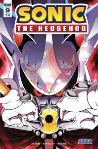 SONIC THE HEDGEHOG #9 CVR A WELLS