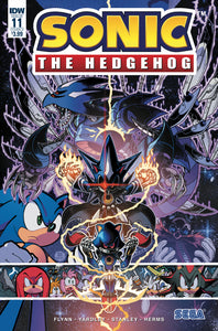 SONIC THE HEDGEHOG #11 CVR A GRAY