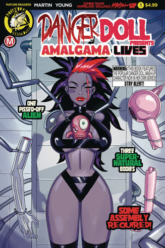 DANGER DOLL SQUAD PRESENTS AMALGAMA LIVES #1 CVR A YOUNG
