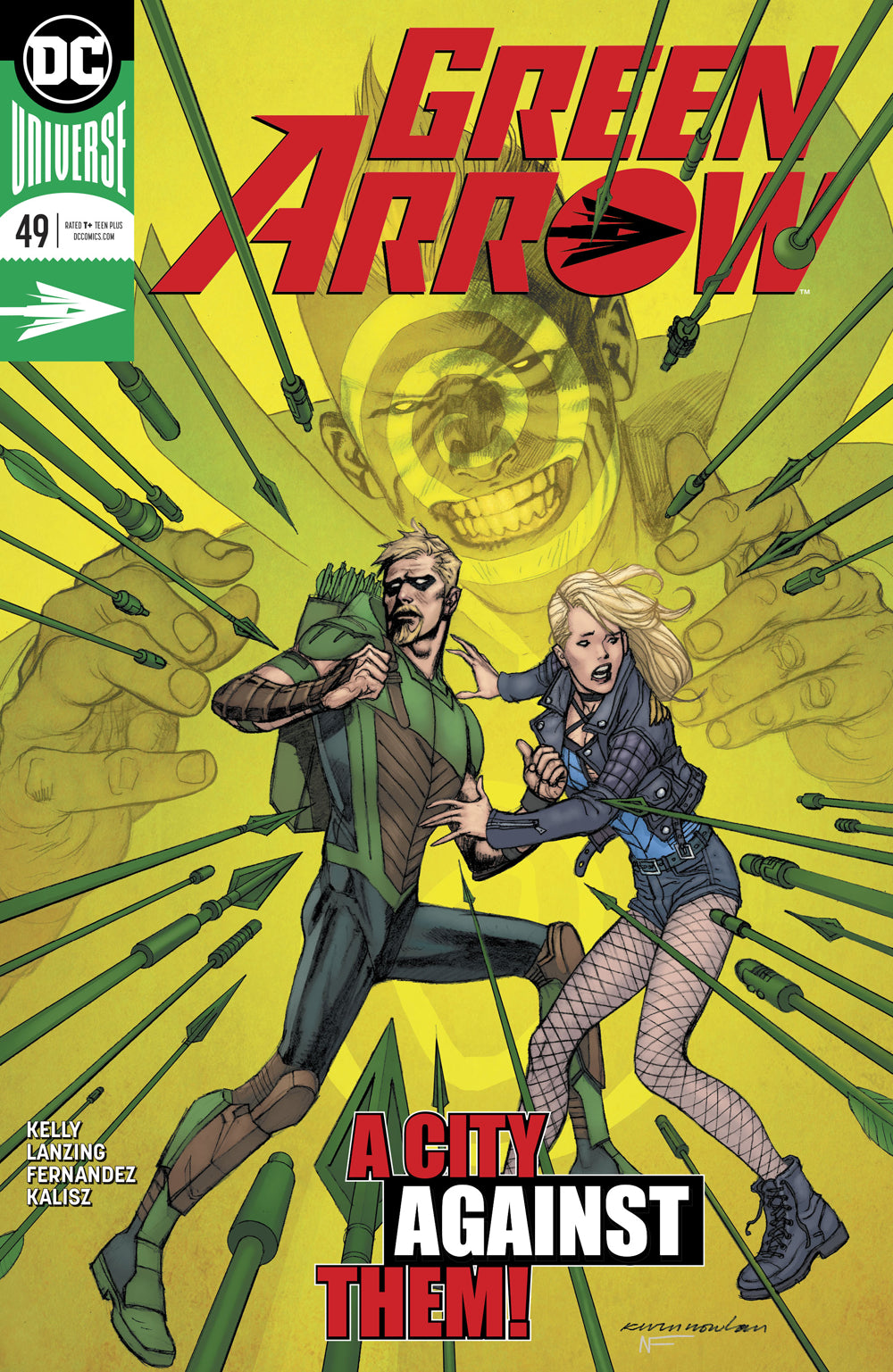GREEN ARROW #49